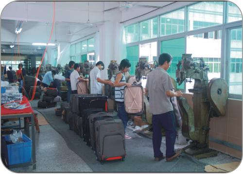 our china luggage factory